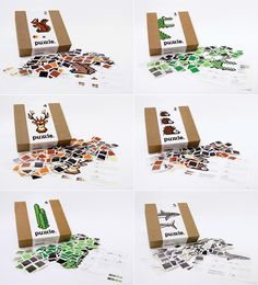 Puxxle - The Pixel Puzzle on Packaging of the World - Creative Package Design Gallery