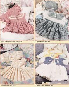Free Crochet Baby Dress Patterns | CROCHET DRESS PATTERN TOP « CROCHET FREE PATTERNS by rosanne