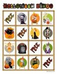 Free printable Halloween bingo - a dozen game cards for awesome Halloween party fun! Holidays Halloween, Halloween Kids, Halloween Themes, Halloween Pumpkins, Halloween Crafts, Halloween Party, Bingo Games For Kids, Activities For Kids, Halloween Bingo Cards