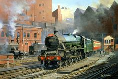 Stanier Jubliee class No. 45688 'Polyphemus' entering Birmingham New ...
