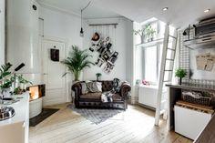 In dit super kleine appartement is alle ruimte optimaal benut - Roomed