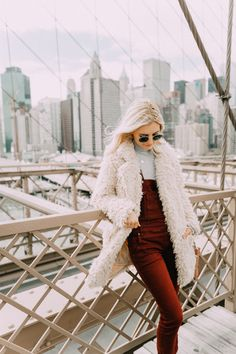 PANTS | TOP | HAT | BOOTS OVERALLS | TOP DRESS | SWEATER | HAT Hey guys! Sharing some pics from my trip to New York over fall break! Today's…