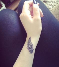 Angel - Wing Tattoo Designs & Ideas on Wrist