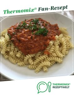 Lentil bolognese with Bockoki red lentils. A Thermomix ® recipe from the category other main dishes www.de, the Thermomix ® community. Greek Recipes, Baby Food Recipes, Pasta Recipes, Mexican Food Recipes, Vegetarian Recipes, Dinner Recipes, Healthy Recipes, Ethnic Recipes, Authentic Mexican Recipes