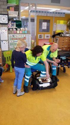 Ambulance op school