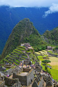 Machu Picchu, Peru. Makes me think of Beastly! Lol
