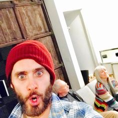 JARED and CONSTANCE LETO (with Larry Slezak)