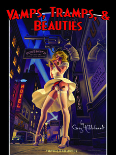 Vamps, Tramps, and Beauties - hardcover, signed, Greg Hildebrandt