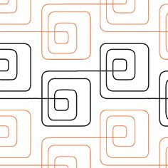 Bauhaus Baby - Digital - Quilts Complete - Continuous Line Quilting Patterns