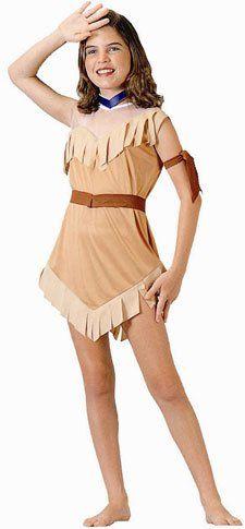 Child's Native American Girl Halloween Costume « Clothing Impulse