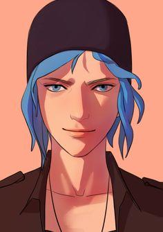 Life Is Strange Fanart, Life Is Strange 3, Overwatch, Arcadia Bay, Blue Haired Girl, Chloe Price, Video Games Girls, Arte Sketchbook, Hells Angels