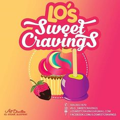 Logo Design for @lo_sweetcravings ------------------------------------------ 📞☎ Contact me 5046105691 for your next project.  Monday - Friday 10a to 7p Saturday 10a to 6 Sunday UNAVAILABLE ------------------------------------------ Email 24 hrs 📧 Info@teamblueprintonline.com ------------------------------------------ Allow 24 to 48 hrs for response ------------------------------------------ Payment must be made before project starts. If needed less than 24 to 48 hrs add an additional $25…