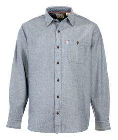 RedHead Workhorse Twill Shirt for Men - Indigo - XLT