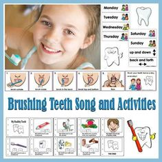 Brush Your Teeth Every Day Song and Activities - free printables!