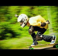 DH longboarding