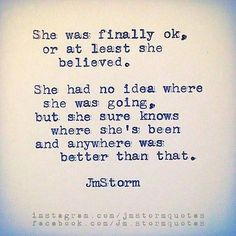 An oldie. Have a beautiful Sunday #jmstorm #jmstormquotes