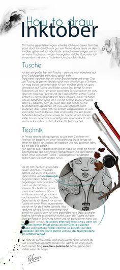 meine aktuellen Techniken zum #Zeichnen mit #Tusche.  #Inktober #Inktober2017 #inkdrawing #tuschezeichnung