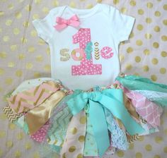 PLEASE DO NOT ORDER UNLESS YOU CAN WAIT 7 WEEKS FOR YOUR ORDER! Thank you! Sweet birthday OUTFIT! Available for one, two, three or four year olds!