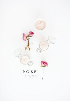 DIY Rose Body Scrub | Oh So Pretty