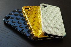 chrome bubble iphone cases. blingin'