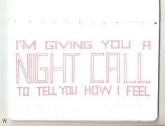 Kavinsky - Nightcall #handlettering #lettering #typography