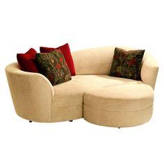 Have to have it. Lazar Cecillia Condo Sofa with Ottoman - $2199.99 @hayneedle