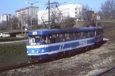 Tallinn, Estonia. Tatra T4SU tram no 290. May 1996 by sludgegulper, via Flickr