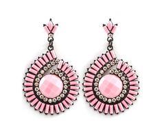 Evette Earrings in Soft Rose