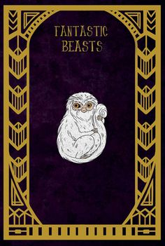 PREORDER Demiguise Enamel Pin Fantastic Beasts by HannahHitchman