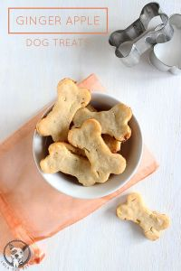 (Small batch) Peanut Butter Banana + Flax Seed Dog Biscuits