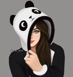 Image shared by Karen Arroyo. Find images and videos on We Heart It - the app to get lost in what you love. Cute Cartoon Girl, Anime Girl Cute, Anime Art Girl, Cartoon Art, Beautiful Girl Drawing, Cute Girl Drawing, Beautiful Anime Girl, Pop Art Girl, Black Girl Art