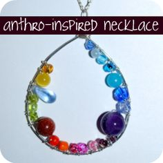 Anthropologie-inspired wrapped bead necklace tutorial
