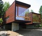 Garrison Architects' Koby Cottage is a Beautiful Prefabricated Woodland Retreat
