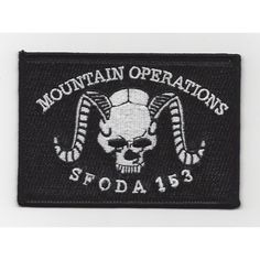 ODA -153 Patch - Version A  United States ARMY ODA -153 B Co 2nd Bn 1st Special Forces Group Military Patch Mountai...