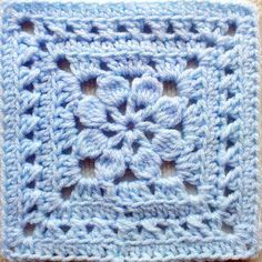 Crochet Square Pattern Walled Garden Square pattern is an exquisitely beautiful pattern with clear, well-written directions. - Walled Garden Square pattern is an exquisitely beautiful pattern with clear, well-written directions. Crochet Squares Afghan, Crochet Motifs, Granny Square Crochet Pattern, Crochet Blocks, Diy Crochet, Crochet Crafts, Crochet Stitches, Crochet Projects, Easy Granny Square