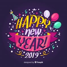 New year background colorful lettering free vector Source by maikemaikaefer No related posts. Happy New Year Letter, Happy New Year Message, Happy New Year Images, Happy New Year Wishes, Happy New Year Greetings, Happy New Year 2019, Merry Christmas And Happy New Year, New Year Art, New Year Designs