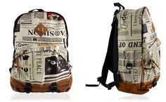 Plecak Szkolny Młodzieżowy Tornister Modny Wzór