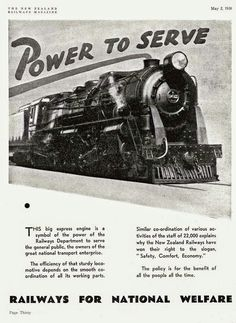 NZR steam locomotive K 902 in an NZR promotion, May Image Transpress NZ Magazine Advert, History Online, Steam Locomotive, Over The Years, New Zealand, Trains, Advertising, Auckland, News