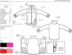 Clothing sketch by Eun Kim at Coroflot.com