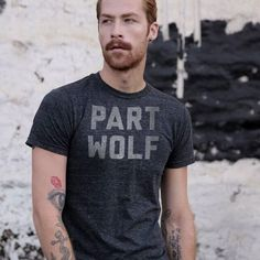 Move over Jacob, there's a new werewolf in town. Click to see this and other fun, super soft shirts from Buy Me Brunch.