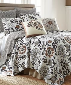 Take a look at this Genevieve Quilt Set on zulily today!
