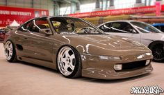 Creamy Latte coloured Toyota MR2 from Thailand's FlushStyle event (via @Hellaflush )