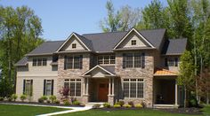 "Exterior of our ""Aberdeen"" model in Country Club Estates"