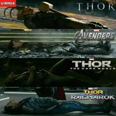 Aha awwww poor Loki <~~~ poor guy has to end up lying on his back sometime or another, it may as well be a part of his character hahaha