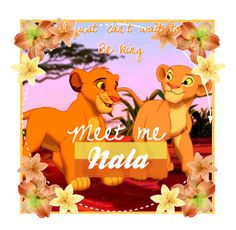 """""""Meet Me//Nala"""" by disney-fans ❤ liked on Polyvore featuring art"""