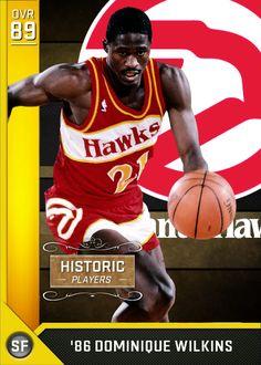 Basketball History, Pro Basketball, Basketball Legends, Best Nba Players, Dominique Wilkins, Kobe Bryant Nba, Nba Stars, Atlanta Hawks, Athlete