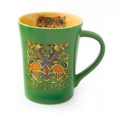 Green Ireland Celtic Mug