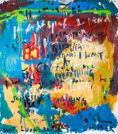 """Saatchi Art Artist Niki Hare; Painting, """"Don't look too far"""" #art"""