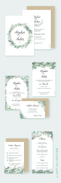 "Botanical Wedding Invitation and Coordinating Stationery – Wedding Invitation ""… - Wedding Ideas Simple Wedding Invitation Wording, Minimalist Wedding Invitations, Traditional Wedding Invitations, Botanical Wedding Invitations, Country Wedding Invitations, Save The Date Invitations, Watercolor Invitations, Wedding Invitation Cards, Wedding Stationery"