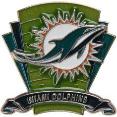 Miami Dolphins Logo Field Pin